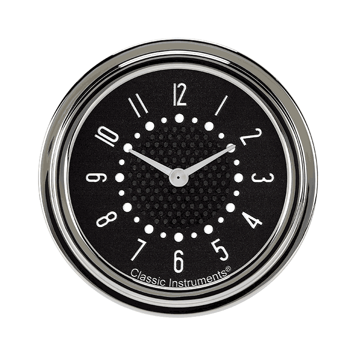 "Picture of Bel Era III Matching Black 2 5/8"" Clock"
