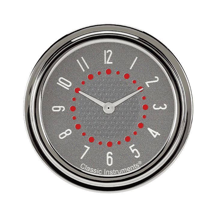 "Picture of Bel Era III Matching Gray 2 5/8"" Clock"