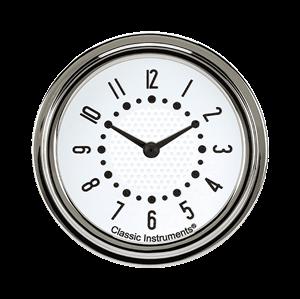 "Picture of Bel Era III Matching White 2 5/8"" Clock"