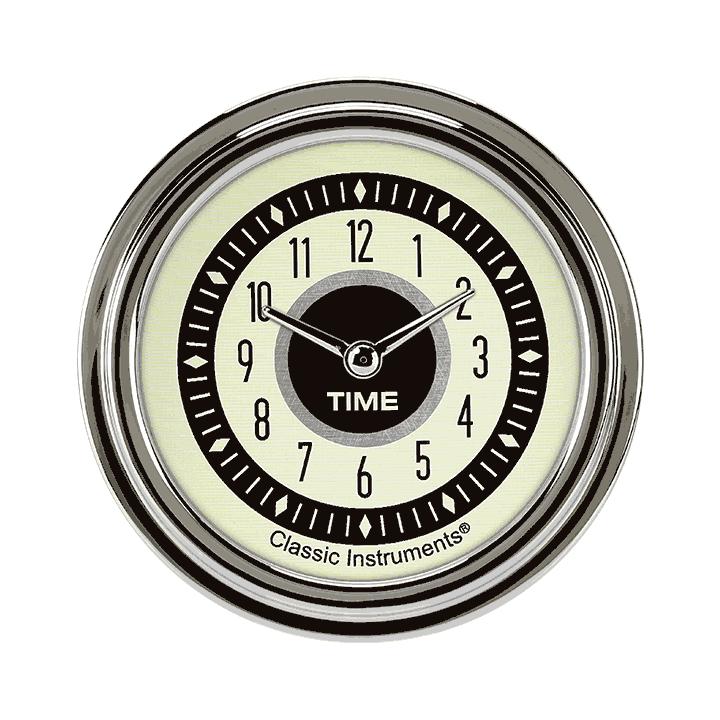 """Picture of Nostalgia VT 2 5/8"""" Clock"""