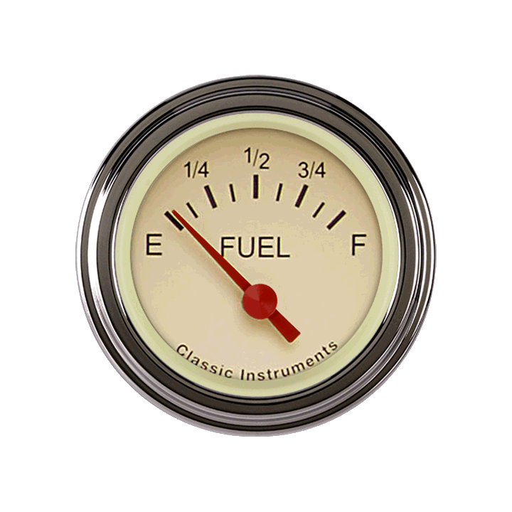 Picture of Tetra Series, Tan Fuel Gauge 240-33