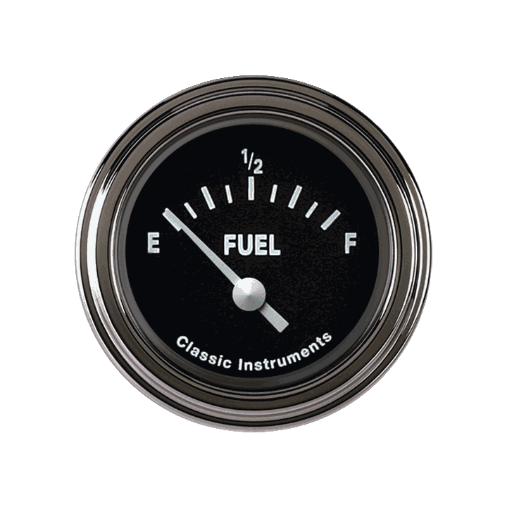 Picture of Tetra Series, Black Fuel Gauge 75-10