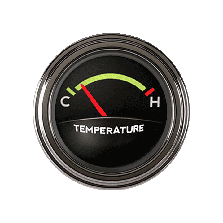 Picture of Tetra Series, Authentic Temp Gauge