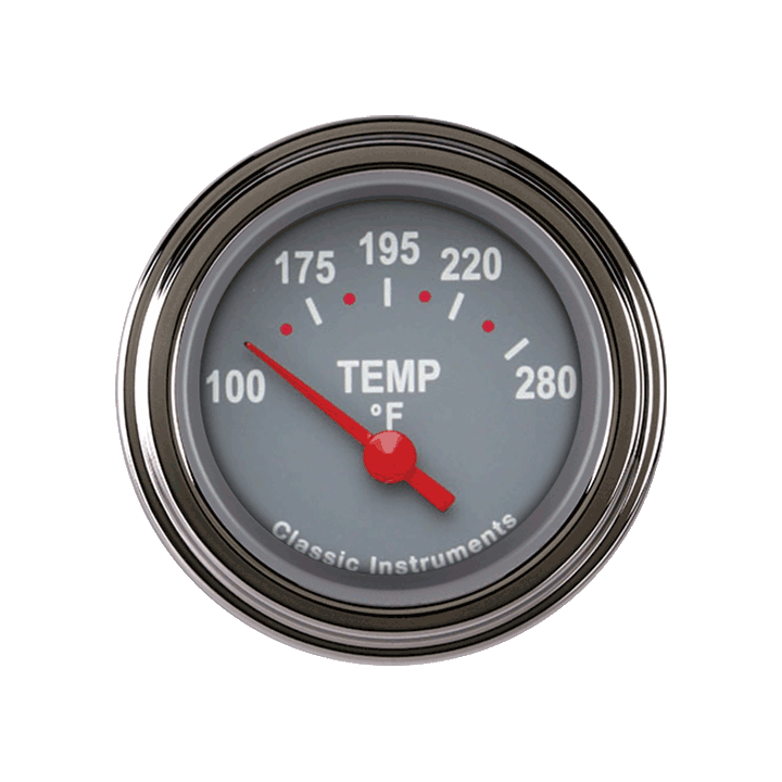 Picture of Tetra Series, Gray Temp Gauge