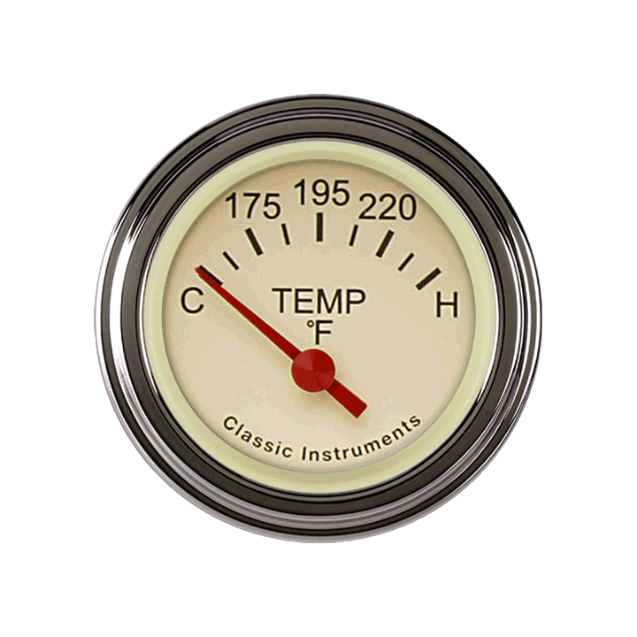 Picture of Tetra Series, Tan Temp Gauge