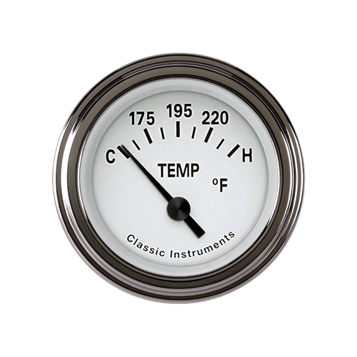 Picture of Tetra Series, White Temp Gauge