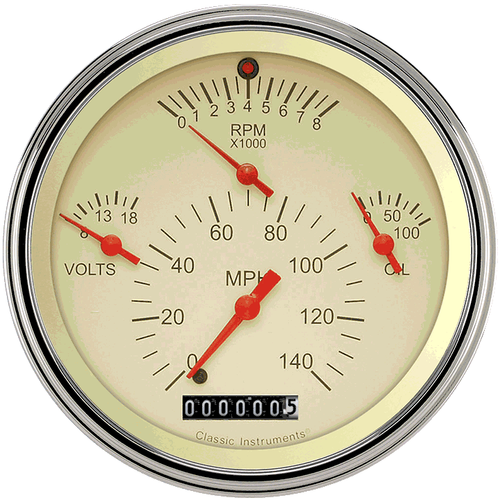 Picture of Tetra Series, Tan Combination Gauge