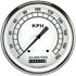 """Picture of Classic White 4 5/8"""" Speedometer"""