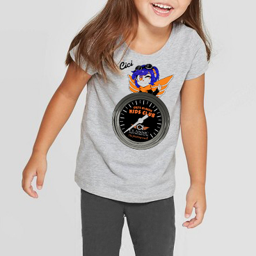 Picture of Kid's T-shirt, Heather Gray