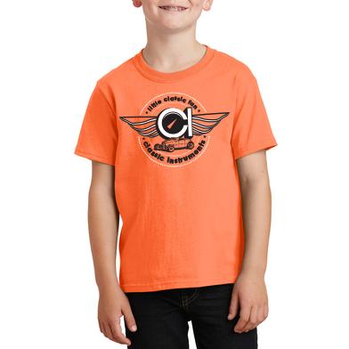 Picture of Kid's T-shirt, Orange