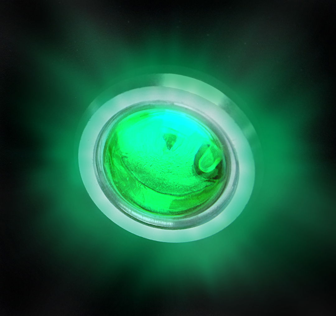 Picture of LED External Warning Light, Green
